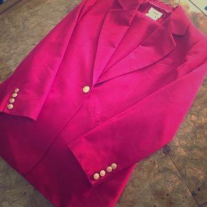 Talbots 2 piece Pant Suit size 8